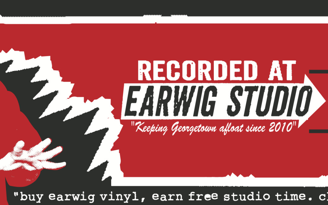 Buy Earwig Vinyl, Earn Free Studio Time!